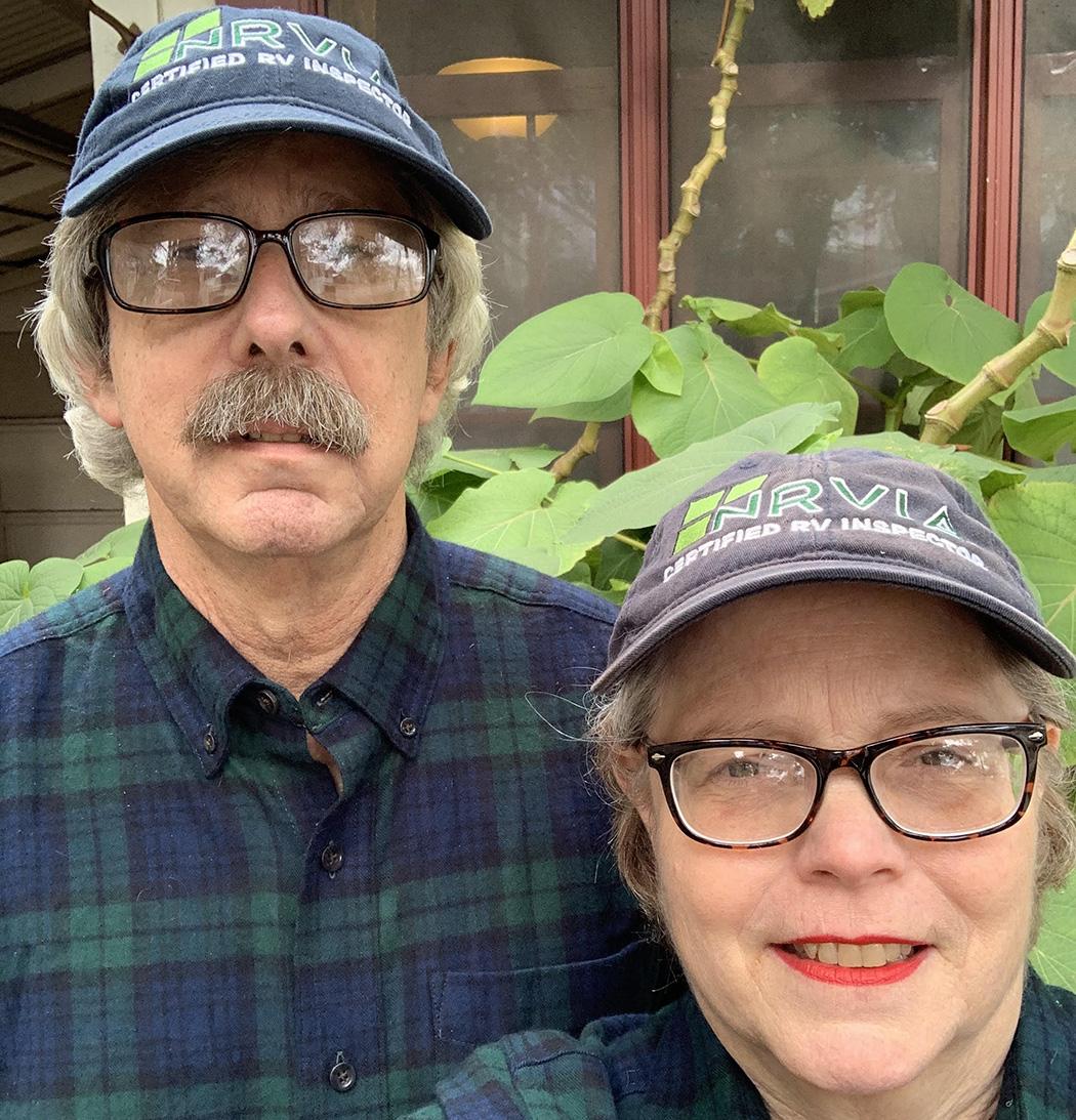 John and Lisa, RV Inspectors in San Antonio Texas