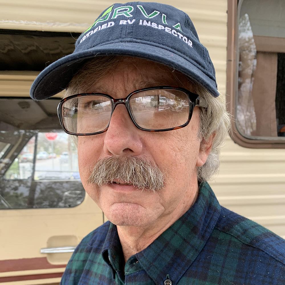 John Davis one of our NRVIA certified RV inspectors