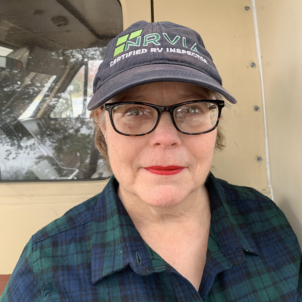 Lissa Bengtson one of our NRVIA certified RV inspectors